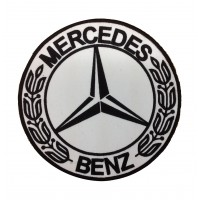 1925 Embroidered patch 22x22 MERCEDES BENZ