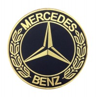 1926 Embroidered patch 22x22 MERCEDES BENZ