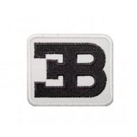 0324 Patch emblema bordado 6x5 ETTORE BUGATTI