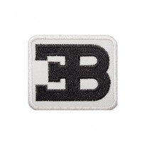 Embroidered patch 6x5 ETTORE BUGATTI
