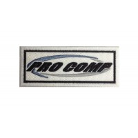 0544 Embroidered patch 10x4 PRO COMP