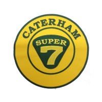 1927 Embroidered sew on patch 22x22 CATERHAM 7 SUPER SEVEN