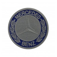 1936 Patch emblema bordado 7x7 MERCEDES BENZ 1926