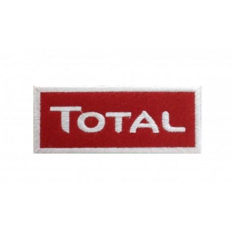 0078 Patch écusson brodé 10x4 TOTAL