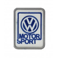 0653 Embroidered patch 8x6 VW VOLKSWAGEN MOTORSPORT WRC POLO