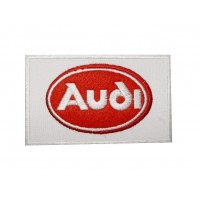 Embroidered patch 10x6 AUDI