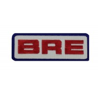 1949 Embroidered patch 10x3 BRE BROOKS RACING ENTERPRISES DATSUN NISSAN 46