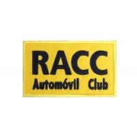 0862 Patch emblema bordado 10x6 RACC AUTOMOVÍL CLUB