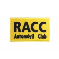0862 Patch écusson brodé 10x6 RACC AUTOMOVÍL CLUB