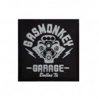 1953 Embroidered patch 7x7 GAS MONKEY GARAGE DALLAS TEXAS