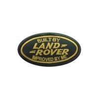 1956 Embroidered patch 9x5 built by LAND ROVER improved by me