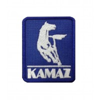 1960 Patch emblema bordado 8x6 KAMAZ