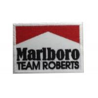 1961 Patch écusson brodé 8x6 MARLBORO TEAM ROBERTS