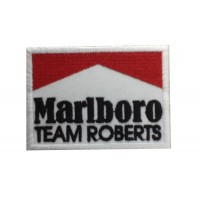1961 Patch emblema bordado 8x6 MARLBORO TEAM ROBERTS