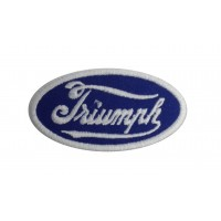 1963 Embroidered patch 8X5 TRIUMPH