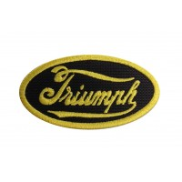 1965 Embroidered patch 8X5 TRIUMPH