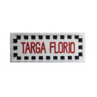 1972 Embroidered patch 10x4 TARGA FLORIO ITALY