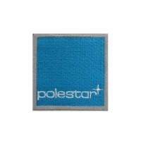 1977 Embroidered patch 6X6 VOLVO POLESTAR CYAN RACING