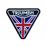 1940 Embroidered patch 8x8 TRIUMPH UK
