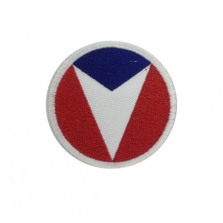 1981 Embroidered patch 6X6 TEAM VAILLANTE - MICHEL VAILLANT