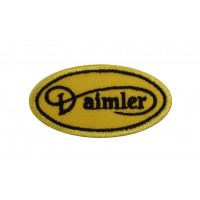 1986 Embroidered patch 6X3 DAIMLER