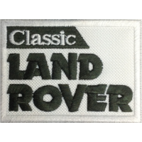 2005 Patch emblema bordado 8X6 LAND ROVER CLASSIC