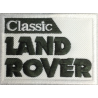 2005 Embroidered patch LAND ROVER CLASSIC