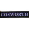 2007 Embroidered patch 29X7 COSWORTH