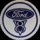 2009 Patch emblema bordado 6x6 FORD V8
