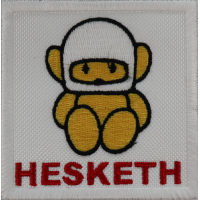 2011 Embroidered patch 7x7 HESKETH