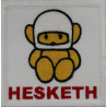 2011 Patch emblema bordado 7x7 HESKETH