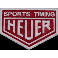 2013 Patch emblema bordado 9x6 HEUER
