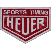 2013 Embroidered patch 9x6 HEUER