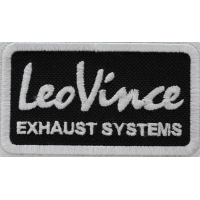 2019 Embroidered patch 8x4 LEO VINCE