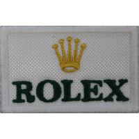 2023 Patch écusson brodé 6x4 ROLEX
