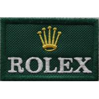 2024 Patch écusson brodé 6x4 ROLEX