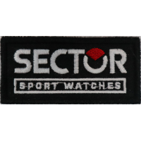 2025 Embroidered patch 8x4 SECTOR