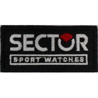2025 Patch emblema bordado 8x4 SECTOR