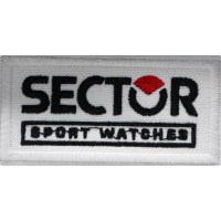 2026 Embroidered patch 8x4 SECTOR