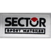 2026 Patch emblema bordado 8x4 SECTOR