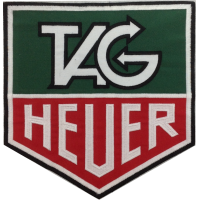2029 Patch emblema bordado 23x22 TAG HEUER