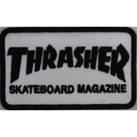 2033 Patch emblema bordado 10x6 THRASHER