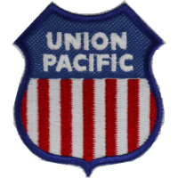 2035 Embroidered patch 7x6 UNION PACIFIC