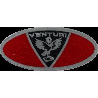 2036 Embroidered patch 10x4 VENTURI