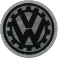 2038 Embroidered patch 6x6 volkswagen VW 1939
