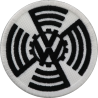 2039 Patch emblema bordado 7x7 volkswagen VW  antes 1939