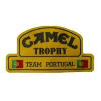 0341 Patch emblema bordado 26x14 CAMEL TROPHY Team Portugal