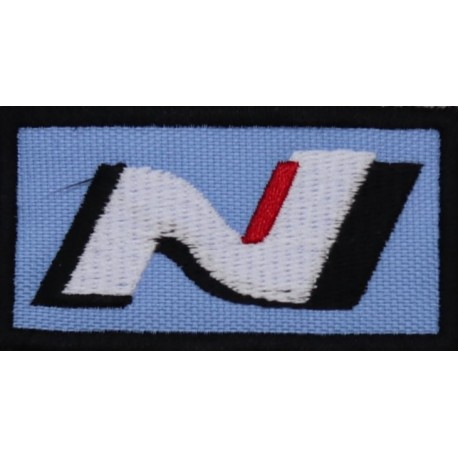2016 Embroidered patch 7x4 HYUNDAI