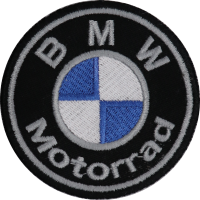 2042 Embroidered patch 7x7 BMW MOTORRAD