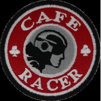 2043 Patch emblema bordado 7x7 CAFE RACER